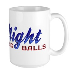 Good Night with Water Drops Large Mug