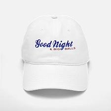 Good Night with Water Drops Baseball Baseball Cap