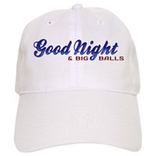 Good Night with Water Drops Baseball Cap
