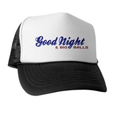 Good Night with Water Drops Trucker Hat