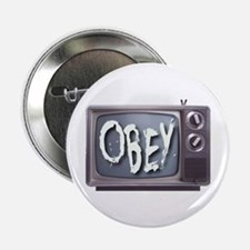 """OBEY 2.25"""" Button"""