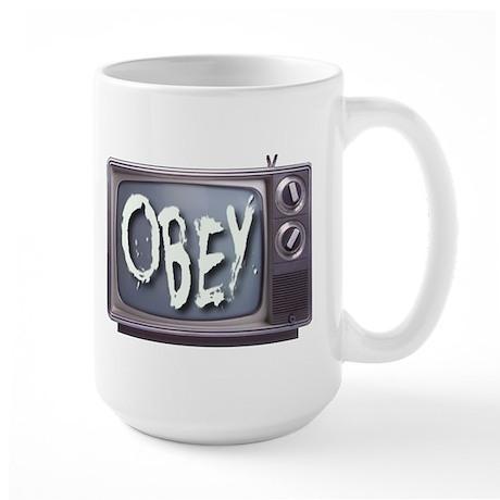 OBEY Large Mug