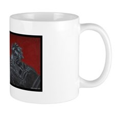 gas mask gunner mug