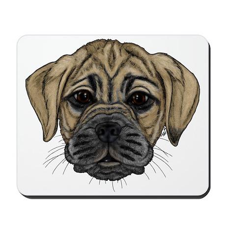 Fawn Puggle Mousepad
