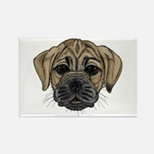 Fawn Puggle Rectangle Magnet