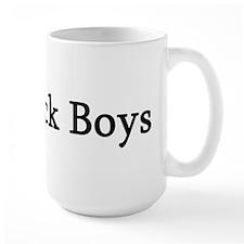 I Love Black Boys Mug