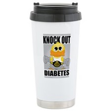 Knock Out Diabetes Travel Mug