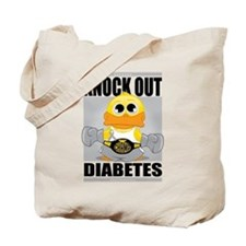 Knock Out Diabetes Tote Bag