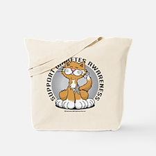 Diabetes Awareness Cat Tote Bag