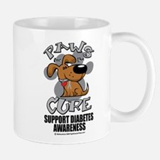 Diabetes Paws for the Cure Mug