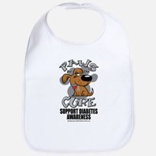 Diabetes Paws for the Cure Bib