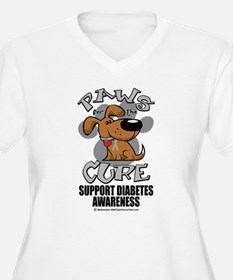 Diabetes Paws for the Cure T-Shirt