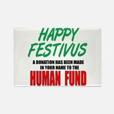 Human Fund Rectangle Magnet (10 pack)