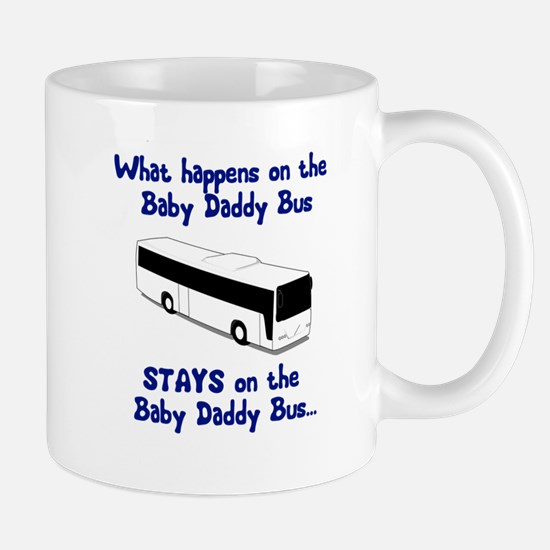 Baby Daddy Bus Mug