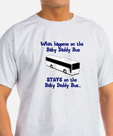 Baby Daddy Bus T-Shirt