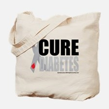 Cure Diabetes Tote Bag