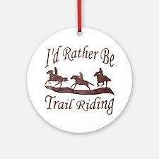 Trail Riders Ornament (Round)