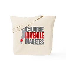 Cure Juvenile Diabetes Tote Bag