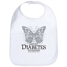 Diabetes Butterfly Bib