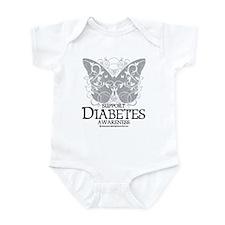 Diabetes Butterfly Infant Bodysuit