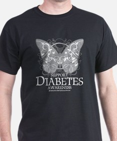 Diabetes Butterfly T-Shirt