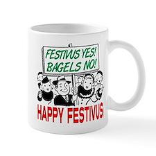 Festivus Yes! Bagels No! Mug