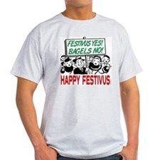 Festivus Yes! Bagels No! T-Shirt