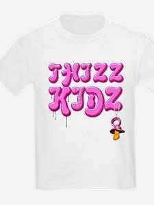 Thizz Kidz [Baby PINK] Kids T-Shirt