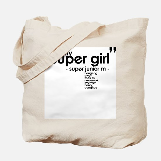 Super Junior M - Super Girl Tote Bag