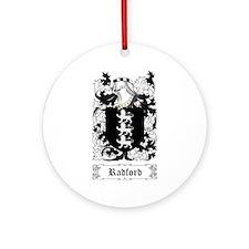 Radford Ornament (Round)