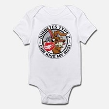 Diabetes Can Kiss My Ass Infant Bodysuit