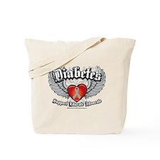 Diabetes Wings Tote Bag