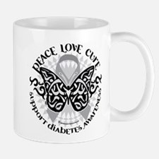 Diabetes Butterfly Tribal Mug