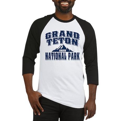 Grand Teton Old Style Blue Baseball Jersey
