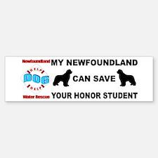 Save Your Honor Student Bumper Bumper Sticker