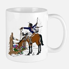 Horse at Flower Box Mug