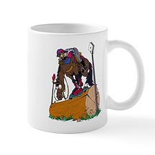 Horse on Log Jump Mug