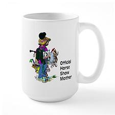 Horse Show Mom - English Mug