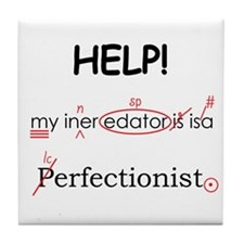 Perfectionist Editor Tile Coaster