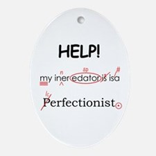 Perfectionist Editor Ornament (Oval)