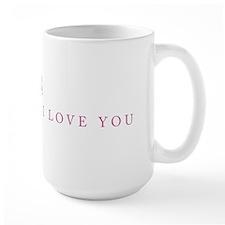 """""""Two Hearts (Pink)"""" Mug"""