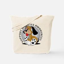 Diabetes Dog Tote Bag
