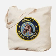 Quincy Mounted Police Tote Bag