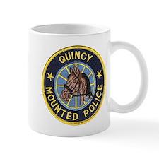 Quincy Mounted Police Mug