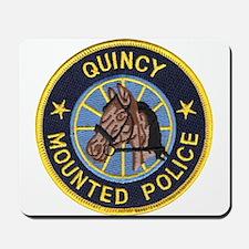 Quincy Mounted Police Mousepad