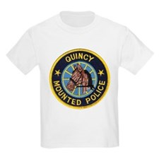Quincy Mounted Police T-Shirt