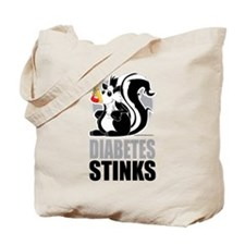 Diabetes Stinks Tote Bag