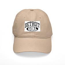 Detroit Girl Baseball Cap