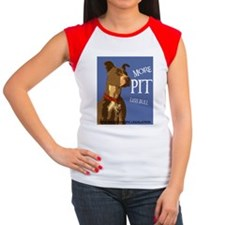 More Pit Less Bull Women's Cap Sleeve T-Shirt