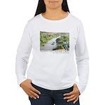 Santa Ana River Yeti Women's Long Sleeve T-Shirt